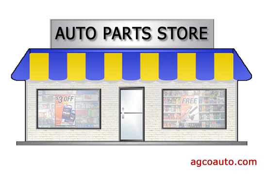 Most parts will come from a part store or dealership