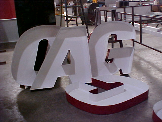 Shells that form the AGCO lettering