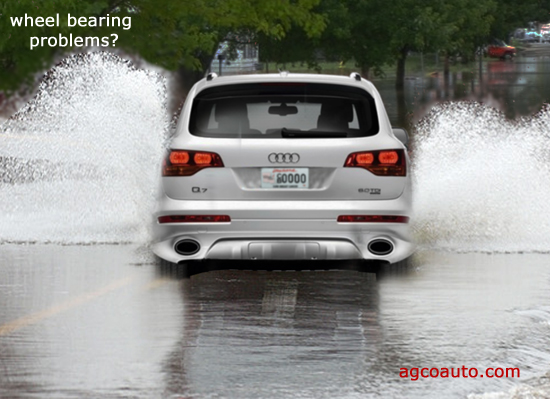 driving through high water often damages wheel bearings