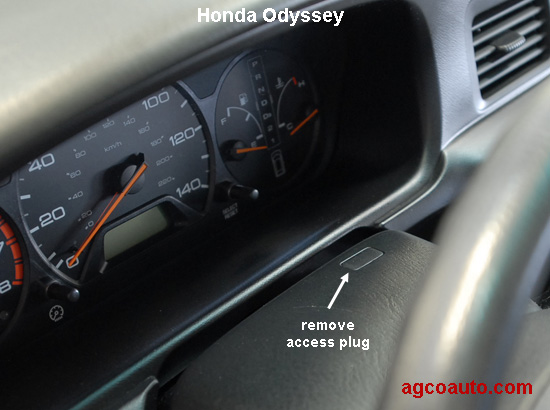 Shift brake over ride on Honda Odyssey