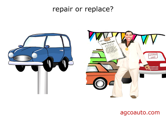 Should you repair your car or buy another?
