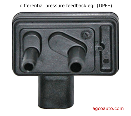 differential pressure feedback egr or dpfe sensor