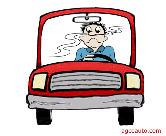 Odors in a vehicle are symptoms of other problems