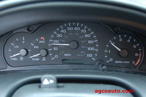 Speedometer and tachometer failure on GM car