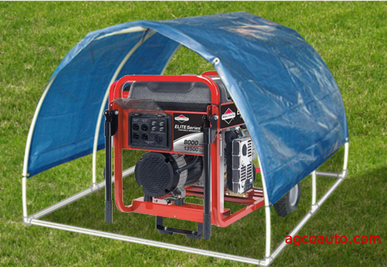 Simple Portable Generator Shelter : Tent generator alternative views sc st gentent