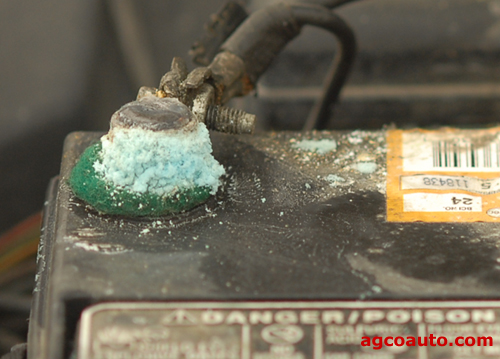 Loose and corroded terminals can damage a transmission