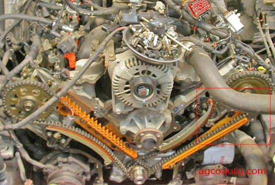 agco automotive repair service baton rouge la detailed auto the 4 6l ford engine the timing cover removed