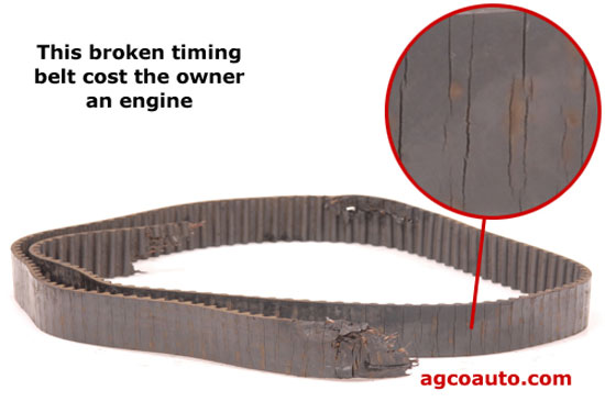 Timing belts have an age, years are as bad as miles