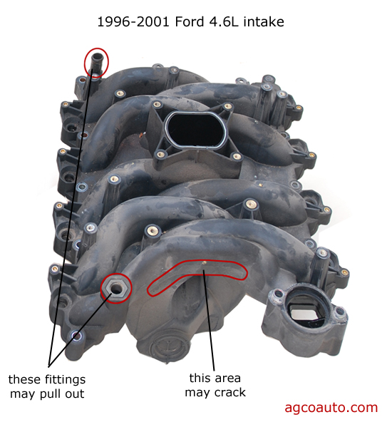 Problems With The   Ford Intake Manifold