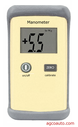 digital manometer can detect a plugged pcv valve