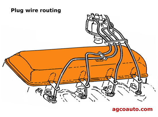 Proper plug wire routing can prevent pre-ignition