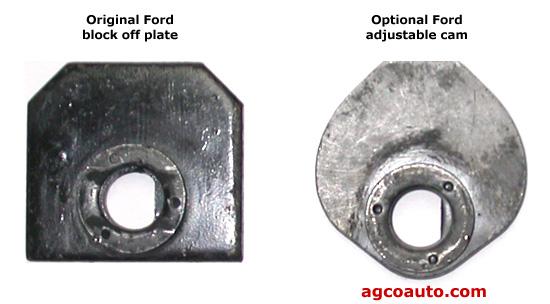 Ford original and  adjustable camber/caster cam
