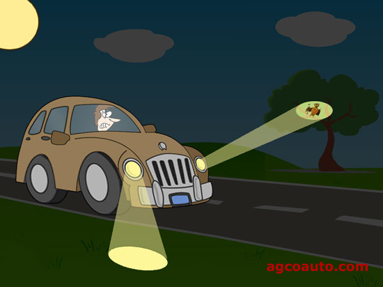 Aiming headlights is part of any quality collision repair