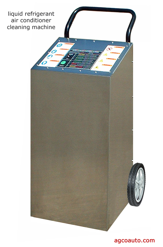 A profession liquid refrigerant flushing machine