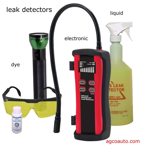 Some leak detector types