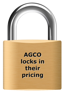 After checking the vehicle, AGCO gives a guaranteed price