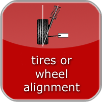 Tire, suspension, balance and wheel alignment information