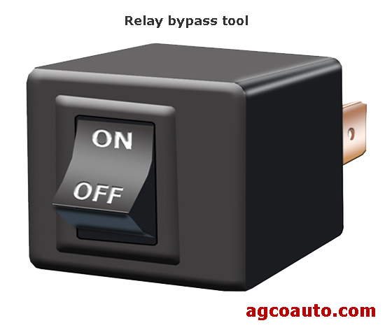 A relay bypass tool used for testing