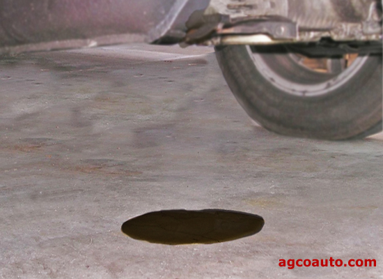 Not changing oil can cause seals to harden and create oil leaks