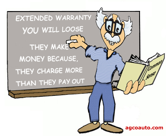Invest your money and self-insure your warranty