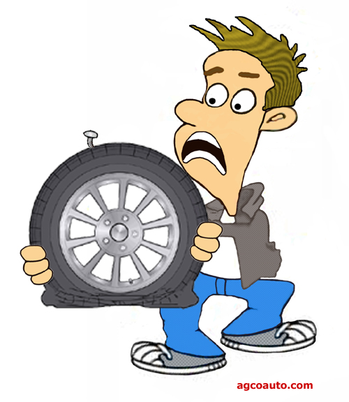 A punctured tire will deflate whether filled with nitrogen or air