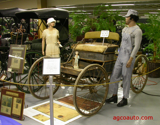1894 Pre-production model Duryea in the Tallahassee Automotive Museum
