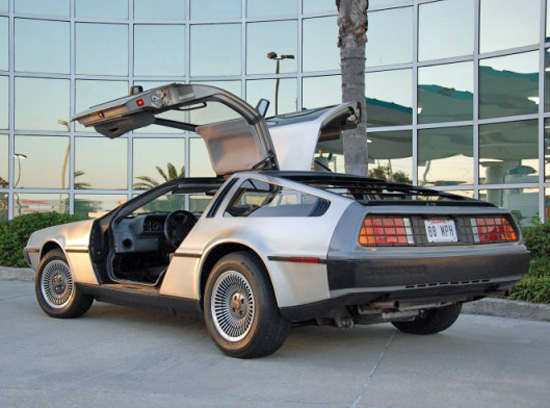 Fred Duplechin's 1981 DeLorean DMC-12
