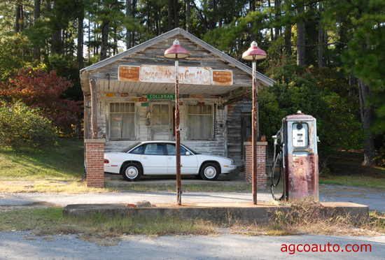 small gas stations with full service are a thing of the past