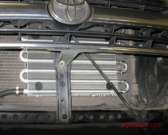 Improperly installed transmission cooler adds no benefit