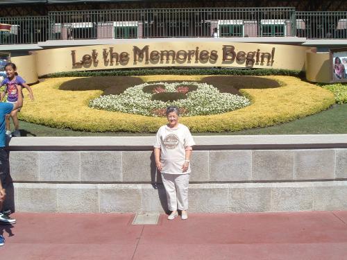 Mrs. Pitman at Disney