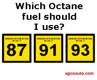 Which octane fuel should I use?