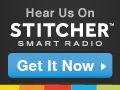 Listen on Stitcher Smart Radio